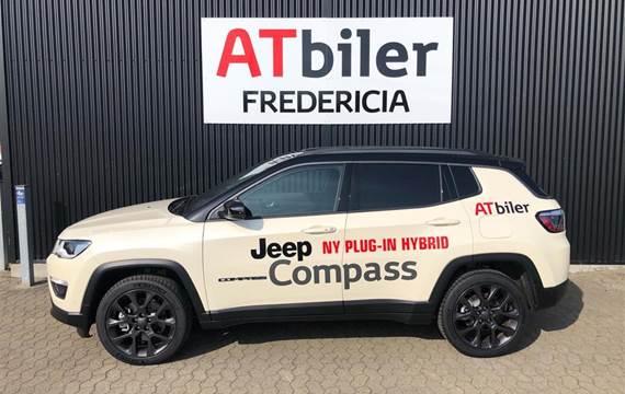 Jeep Compass 1,3 MJT  Plugin-hybrid S 4xe  5d 6g Aut.