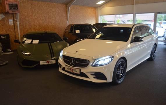 Mercedes C220 d 2,0 AMG Line stc. aut. 4Matic