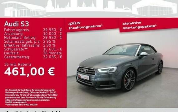 Audi S3 Cabriolet 2.0 TFSI qu. S-tro. *Matrix*B&O*