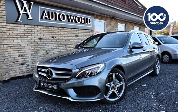 Mercedes C220 d 2,2 AMG Line stc. aut. 4Matic