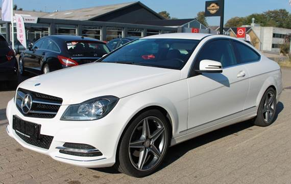 Mercedes C200 1,8 Coupé BE