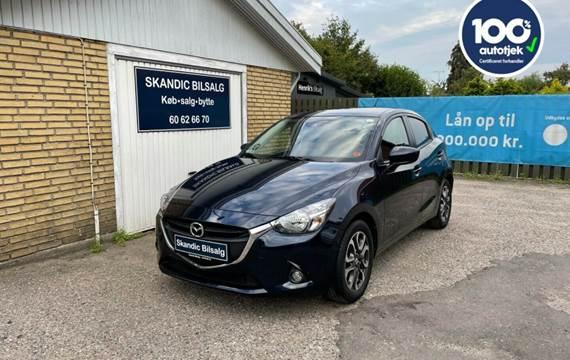 Mazda 2 1,5 SkyActiv-G 90 Nakama