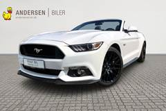 Ford Mustang 5,0 Ti-VCT GT 421HK Cabr. 6g Aut.