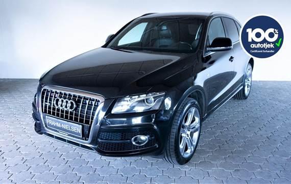 Audi Q5 3,0 TDi 240 S-line quattro S-tr. Van