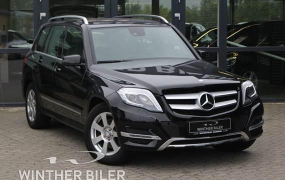 Mercedes GLK220 2,2 CDi aut. 4Matic BE Van