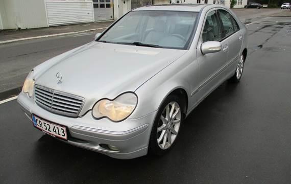 Mercedes C200 2,0 Komp. Elegance aut.