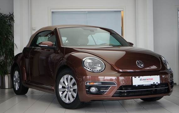 VW The Beetle 1,2 TSi 105 Exclusive Cabriolet