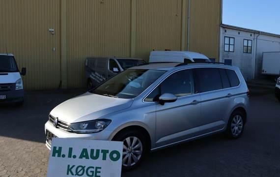 VW Touran 1,6 TDi 110 Trendline DSG Van