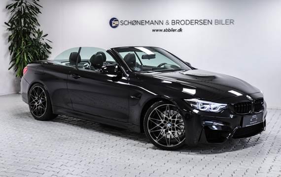 BMW M4 3,0 Cabriolet Competition aut.
