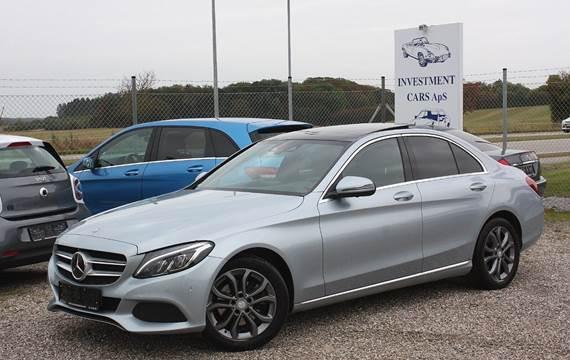 Mercedes C220 d 2,2 Avantgarde aut.