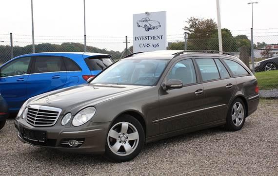 Mercedes E280 3,0 CDi Avantgarde stc. aut.