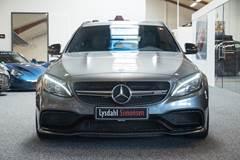 Mercedes C63 4,0 AMG stc. aut.