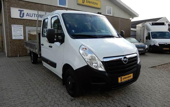 Opel Movano 2,3 CDTi 145 Crew Cab L3