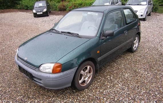 Toyota Starlet 1,3 XLi 75HK 3d