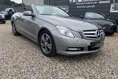 Mercedes E220 2,2 CDi Cabriolet aut. BE