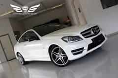 Mercedes C220 2,2 CDi AMG Line Coupé aut.