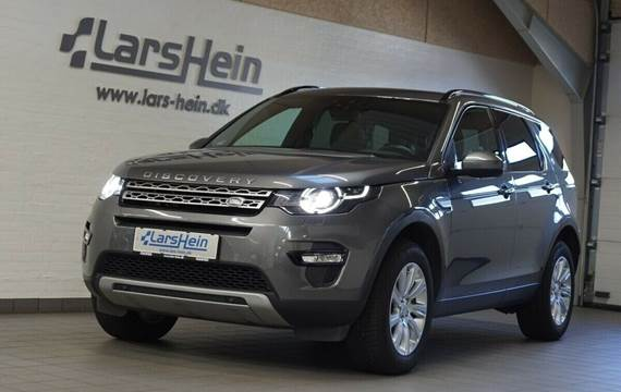 Land Rover Discovery Sport 2,0 TD4 180 HSE aut. Van