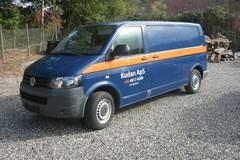 VW Transporter 2,0 TDi 140 Kassevogn lang