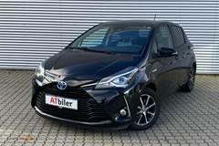 Toyota Yaris 1,5 Hybrid H3 Smartpakke E-CVT  5d Trinl. Gear