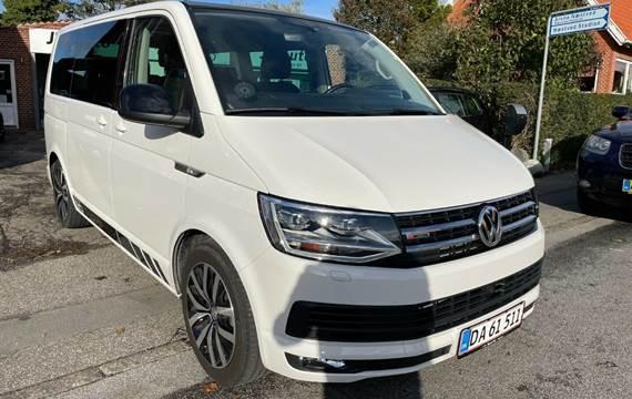 VW Multivan 2,0 TDi 204 Highline DSG 4Motion kort