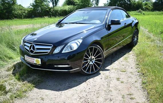 Mercedes E350 3,0 CDi Avantgarde Cabriolet aut. BE
