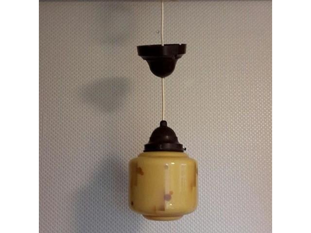 Tidsmæssigt Gammel lampe, måske 1930 - Belysning & Lamper - [hattehylden] - RETRO. RO-33