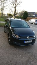 VW Touran 1,6 TDI DSG Blue Motion Comfortline