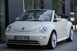 VW New Beetle 1,6 Highline Cabriolet