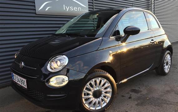 Fiat 500 Black Friday Start & Stop  3d 1,2