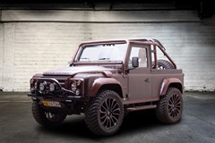 "Land Rover Defender 2,4 90"" Soft Top"