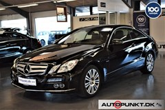 Mercedes E200 1,8 CGi Coupé aut. BE