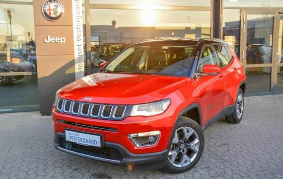 Jeep Compass MJT Limited  5d 6g 1,6