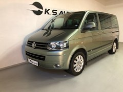 VW Multivan 2,0 TDi 140 Highline kort