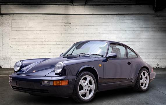 Porsche 911 Carrera 4 3,6 Coupé