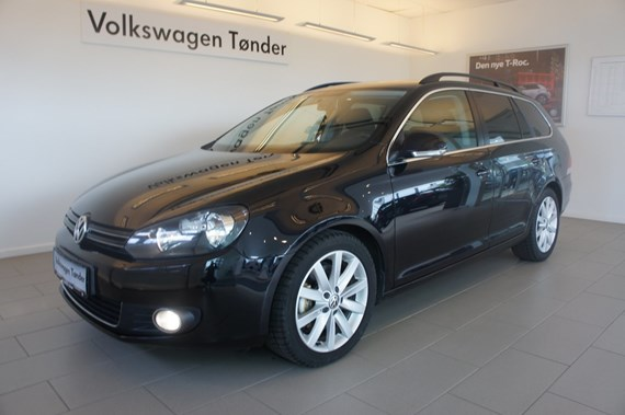 VW Golf VI TDi 140 Highline Variant 2,0