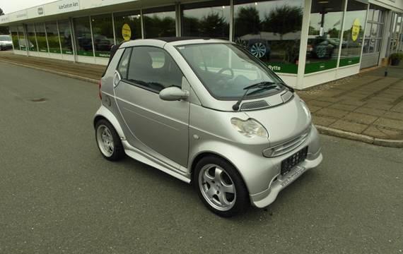 Smart City Coupé Cabrio Pure 55 aut. 0,6