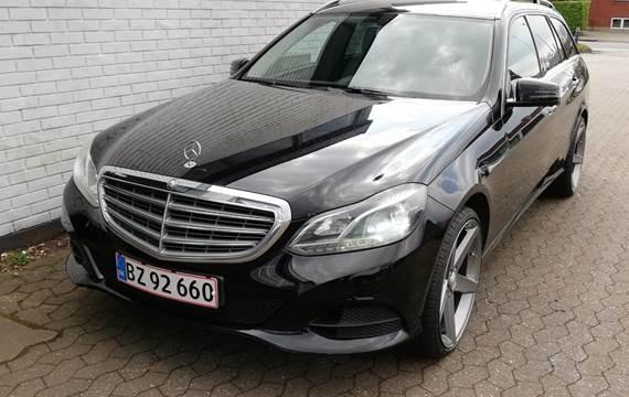 Mercedes E200 BlueTEC stc. aut. 2,2