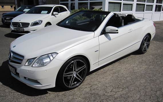 Mercedes E220 CDi Cabriolet aut. BE 2,2