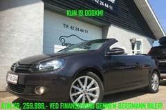 VW Golf VI TSi 105 Lounge Cabriolet 1,2