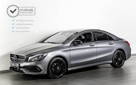 Mercedes CLA200 Final Edition aut. 1,6