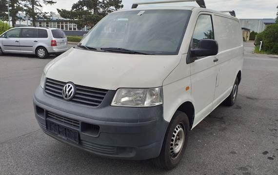 VW Transporter TDi Kassevogn kort 1,9