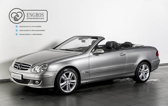 Mercedes CLK200 Komp. Cabriolet Elegance aut. 1,8