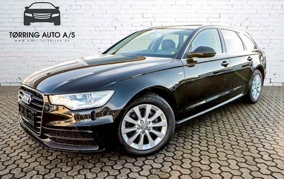 Audi A6 TDi 177 S-line Avant Multitr. 2,0