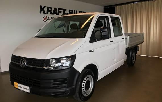 VW Transporter TDi 102 Db.Cab m/lad 2,0