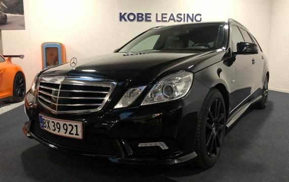 Mercedes E350 CDi Elegance stc. aut. 4-M BE 3,0