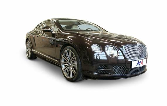 Bentley Continental GT W12 Speed aut. 6,0