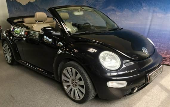 VW New Beetle Highline Cabriolet aut. 2,0