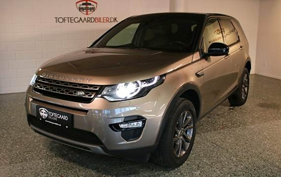 Land Rover Discovery Sport SD4 SE aut. 2,2