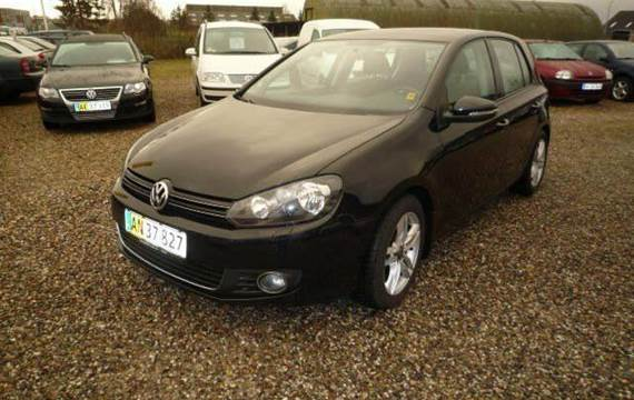 VW Golf VI TDi 140 Highline Van 2,0