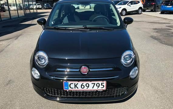 Fiat 500 Black 1,2